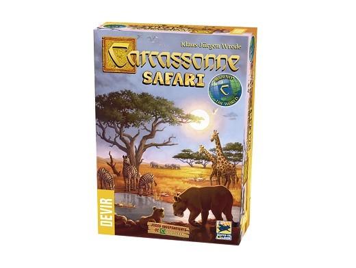 Carcassonne: Safari - Juego de mesa