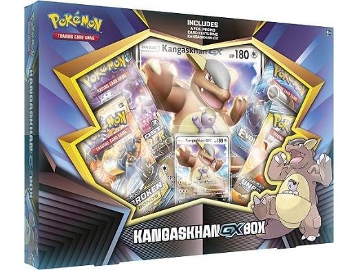 Pokémon TCG: Kangaskhan-GX Box