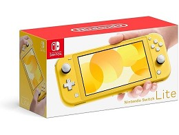 Consola Nintendo Switch Lite Yellow