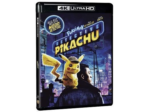 Pokémon: Detective Pikachu 4K Blu-Ray (latino)