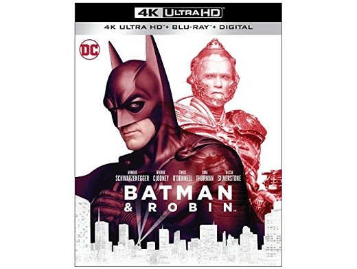 Batman & Robin 4K Blu-Ray