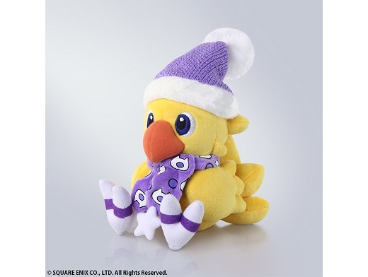 Peluche Final Fantasy Chocobo Winter Ver.