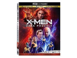 X-Men: Dark Phoenix 4K Blu-Ray