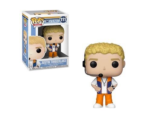 Figura Pop! Rocks: NSYNC - Justin Timberlake