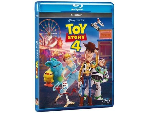 Toy Story 4 Blu-ray (latino)