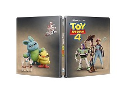 Toy Story 4 Blu-ray + DVD Steelbook latino