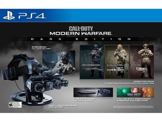 Call of Duty: Modern Warfare Dark Ed PS4