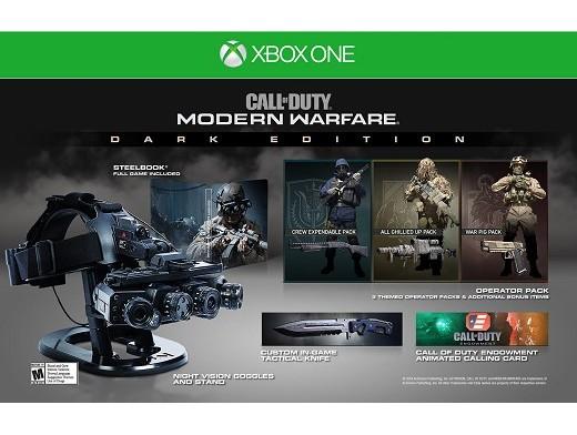 Call of Duty: Modern Warfare Dark Ed XBOX ONE