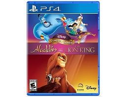 Disney Classic Games Aladdin Lion King PS4