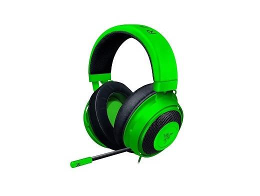 Headset Razer Kraken Multiplataforma Oval Green