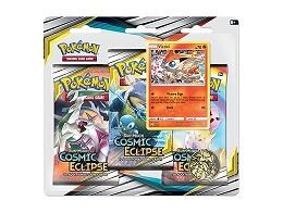 Pokémon TCG 3-Pack Cosmic Eclipse - Victini