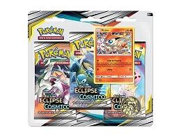 Pokémon TCG 3-Pack Eclipse Cósmico - Victini