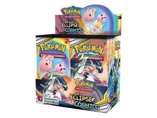 Display sobres Pokémon TCG Eclipse Cósmico