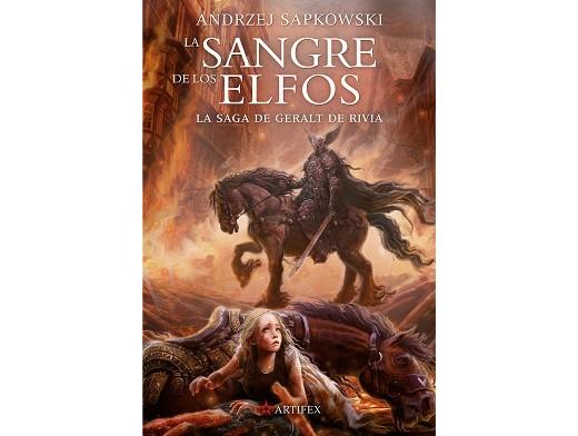 The Witcher 3 - La Sangre de los Elfos (ESP) Libro