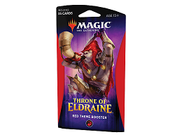 MTG Throne of Eldraine - Theme Booster Red