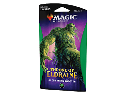 MTG Throne of Eldraine - Theme Booster Green