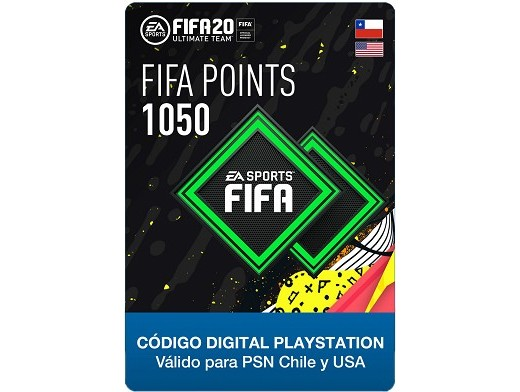FIFA 20 Ultimate Team - 1050 Points PS4 (DIGITAL)