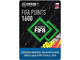 FIFA 20 Ultimate Team - 1600 Points PS4 (DIGITAL)