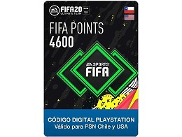FIFA 20 Ultimate Team - 4600 Points PS4 (DIGITAL)