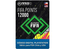 FIFA 20 Ultimate Team - 12000 Points PS4 (DIGITAL)