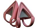 Kitty Ears Rose Quartz para Headset Razer Kraken