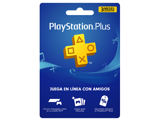 Tarjeta PSN PlayStation Plus 3 meses (DIGITAL)