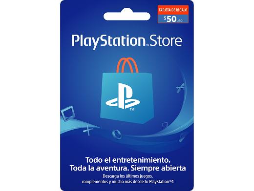 Tarjeta PSN PlayStation Chile USD$50 (DIGITAL)