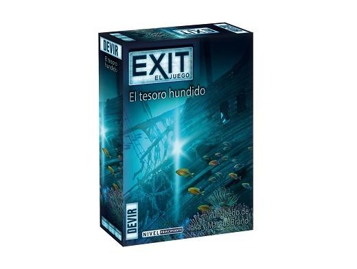 Exit 7 El Tesoro Hundido - Juego de Mesa