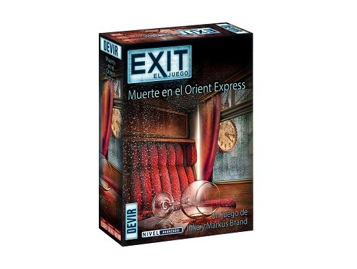 Exit 8 Muerte en el Orient Express - Juego de Mesa
