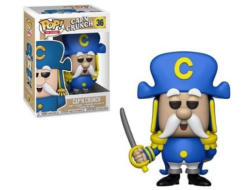 Figura Pop! Ad Icons: Quaker Oarts Cap'N Crunch