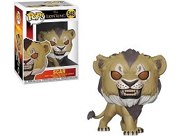 Figura Pop! Disney: Lion King Live Action - Scar