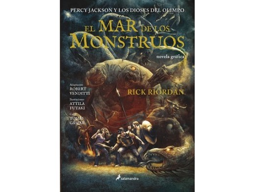 Percy Jackson Mar de los monstruos (ESP/TP) Comic