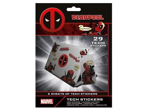 Stickers Deadpool - Tech Deadpool