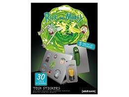 Stickers Rick & Morty - Tech Rick & Morty