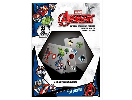 Stickers Avengers - Tech Avengers