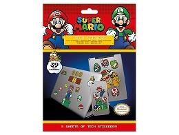 Stickers Super Mario- Tech Super Mario