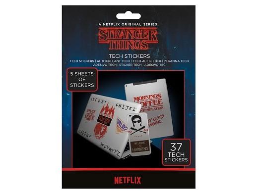 Stickers Stranger Things - Tech Stranger Things