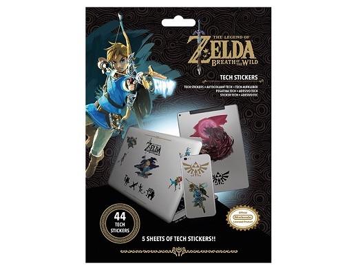 Stickers Legend of Zelda - Tech Breath of the Wild