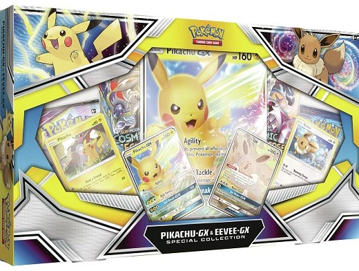 Pokémon TCG: Pikachu-GX & Eevee-GX Special Col.