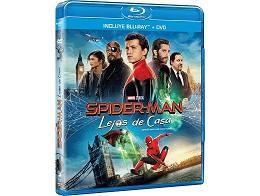 Spider-Man: Lejos de Casa Blu-Ray + DVD latino