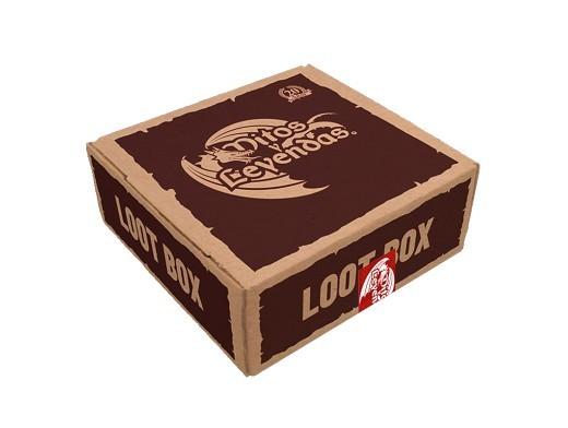 Loot Box MyL 2019 - Mitos y Leyendas (caja café)