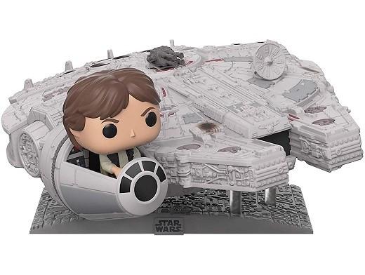 Figura POP! SW: Millennium Falcon with Han Solo