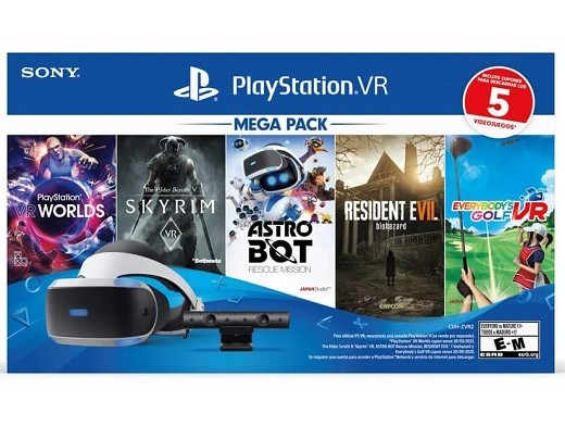 PlayStation VR Kit Mega 5 PS4