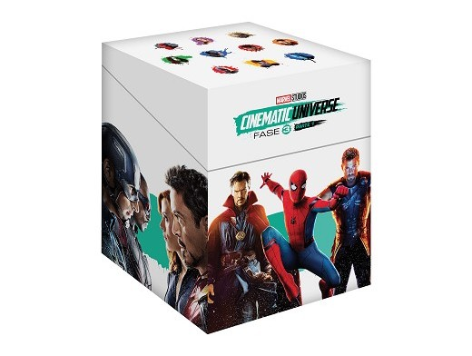 Pack Marvel Cinematic Universe Fase 3.1 Blu-ray