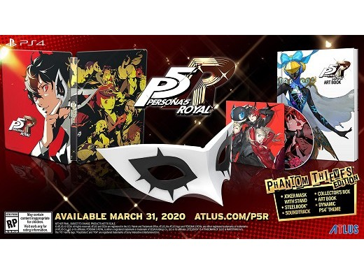 Persona 5 Royal Phantom Thieves Edition PS4