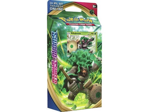 Mazo Pokémon TCG Sword & Shield - Rillaboom