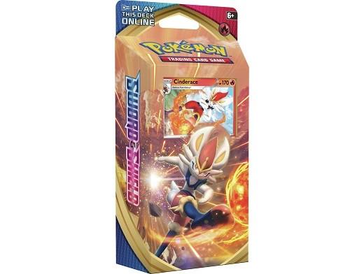Mazo Pokémon TCG Sword & Shield - Cinderace