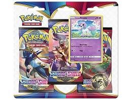 Pokémon TCG 3-Pack Sword & Shield - Ponyta