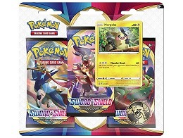 Pokémon TCG 3-Pack Sword & Shield - Morpeko