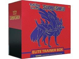 Pokémon TCG Sword & Shield Elite Box Zacian